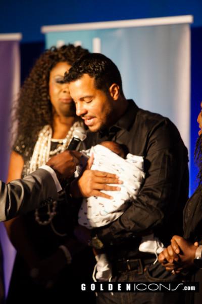 Photos From Uche Jombo's Baby Dedication Ceremony in Houston