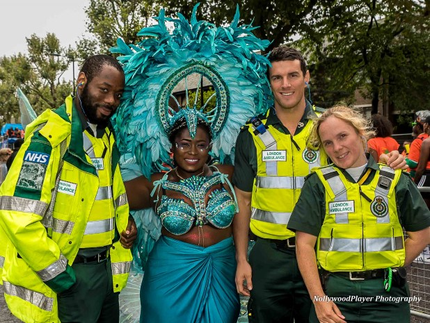 Lydia Forson at Notting Hill Carnival
