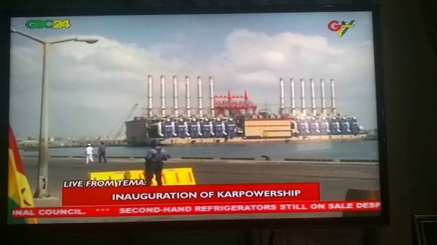 Power Barges Ceremony