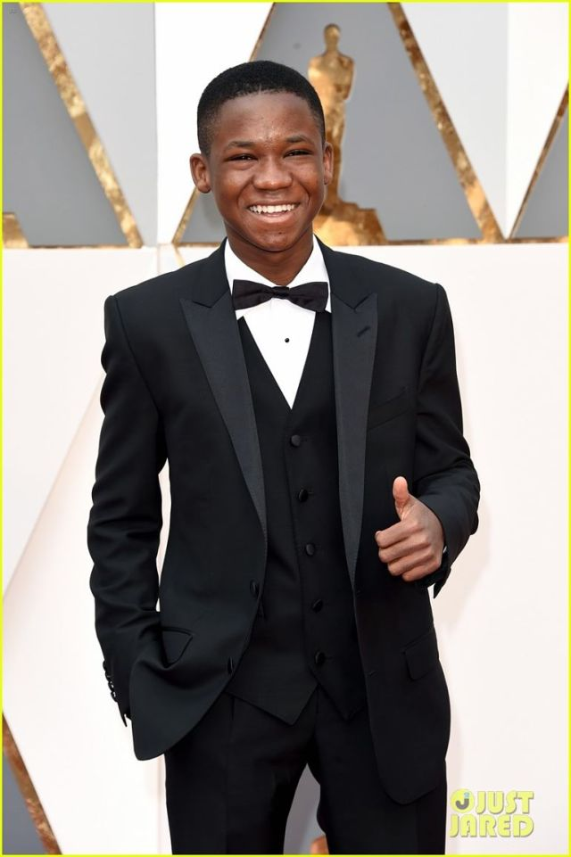 HOLLYWOOD, CA - FEBRUARY 28: Actor Abraham Attah attends the 88th Annual Academy Awards at Hollywood & Highland Center on February 28, 2016 in Hollywood, California. (Photo by Jason Merritt/Getty Images)