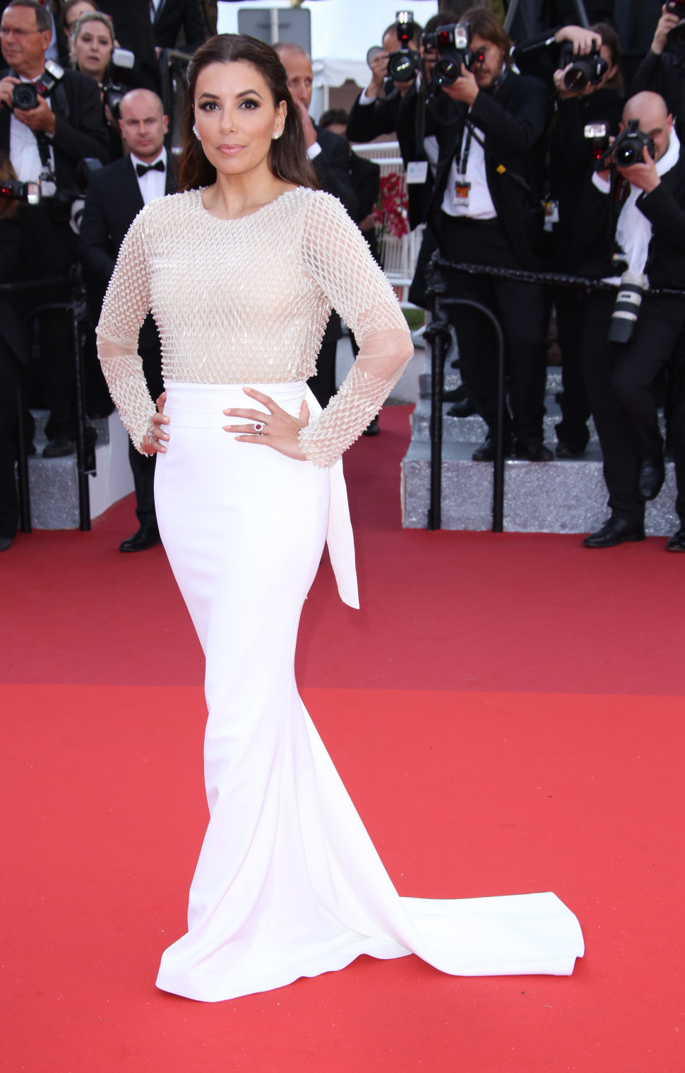 Mandatory Credit: Photo by Matt Baron/BEI/Shutterstock (5682156et) Eva Longoria'Cafe Society' premiere and opening ceremony, 69th Cannes Film Festival, France - 11 May 2016
