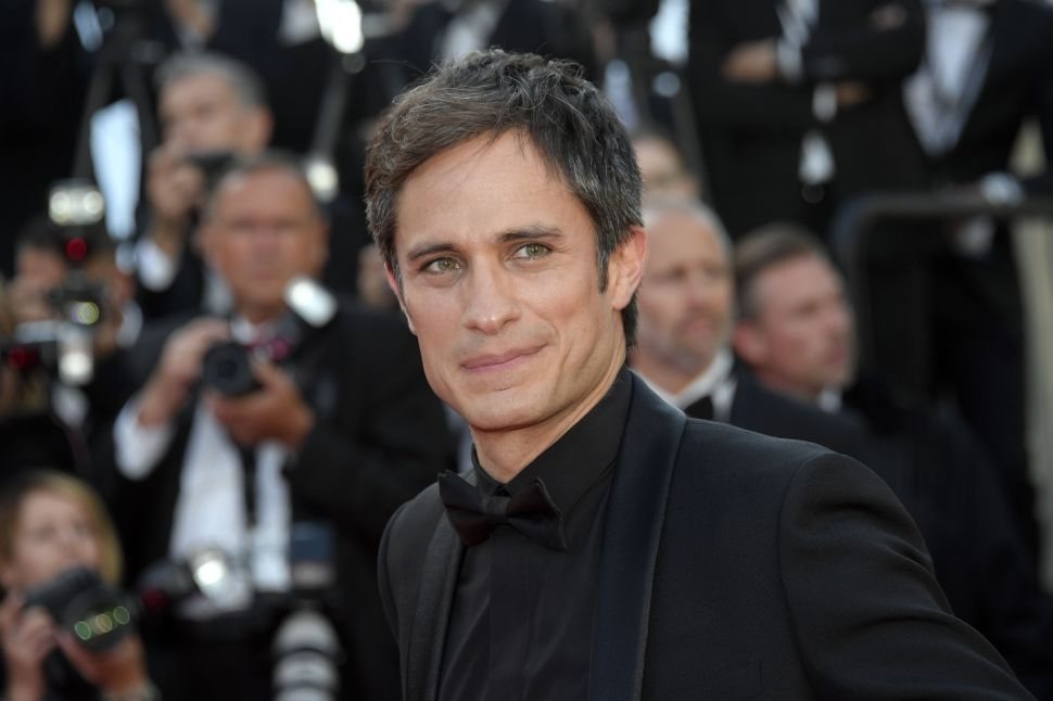 Mandatory Credit: Photo by Maria Laura Antonelli/REX/Shutterstock (5682774l) Gael Garcia Bernal'Cafe Society' premiere and opening ceremony, 69th Cannes Film Festival, France - 11 May 2016