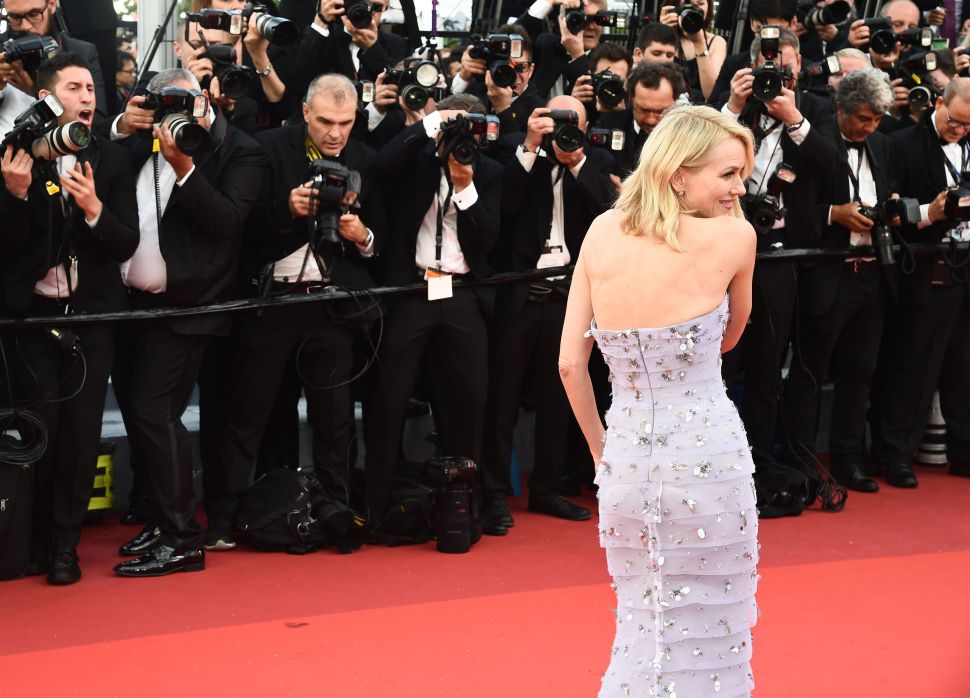 Mandatory Credit: Photo by Buckner/Variety/REX/Shutterstock (5682159fu) Naomi Watts'Cafe Society' premiere and opening ceremony, 69th Cannes Film Festival, France - 11 May 2016
