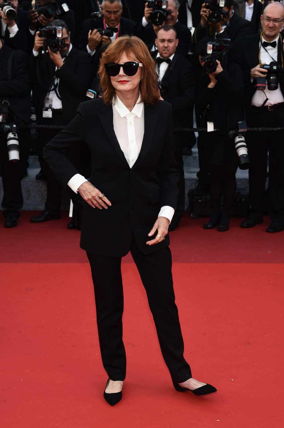 Mandatory Credit: Photo by Buckner/Variety/REX/Shutterstock (5682159u) Susan Sarandon'Cafe Society' premiere and opening ceremony, 69th Cannes Film Festival, France - 11 May 2016