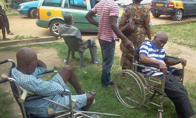 Ghanaian pensioners