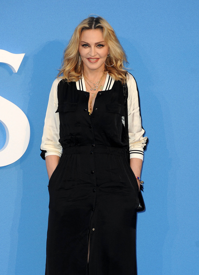 Madonna attends'The Beatles: Eight Days a Week' Premiere in Leicester Square Featuring: Madonna Where: London, United Kingdom When: 15 Sep 2016 Credit: Tony Oudot/WENN