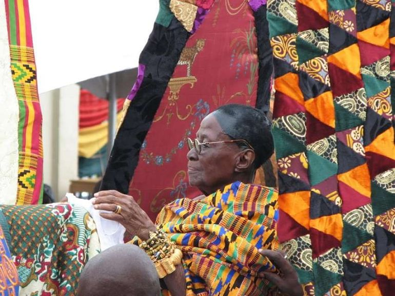 Tribute From Otumfuo Osei Tutu II To The Late Asantehemaa