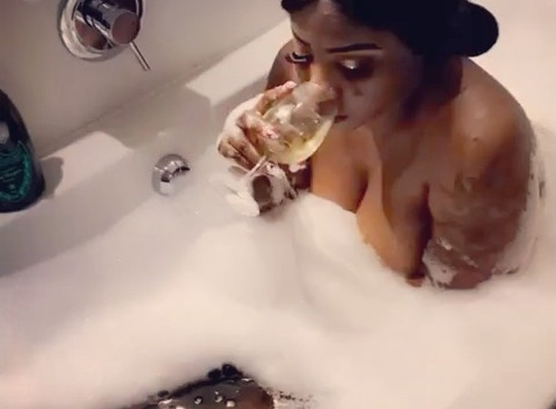 VIDEO: Nigerian Actress Shares Video Of Herself and Lover 'Doing It' In Bathtub