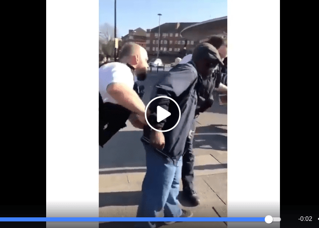 VIDEO: African Preacher Arrested In London For Making Too Much Noise