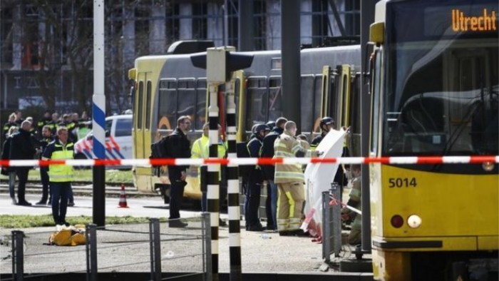 New Terror Threat Erupts as Gunman Opens Fire on a Tram in Dutch City of Utrecht