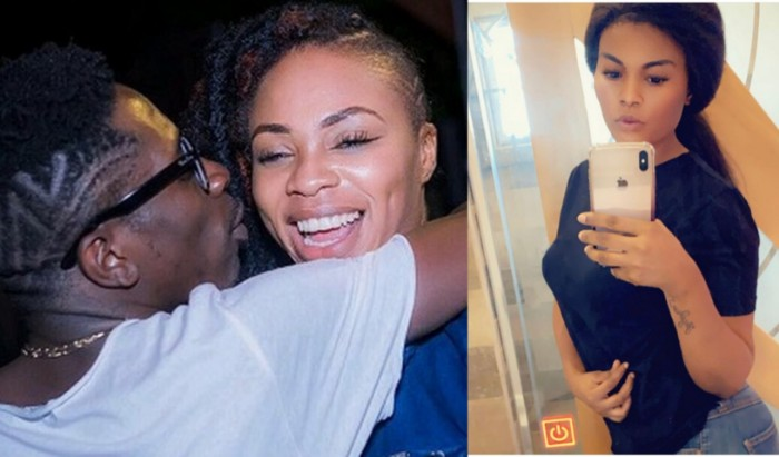 BeFunky collage - Shatta Wale has Been Chopping his Own 'Sister' Which Caused His Numerous Breakups with Michy — Pope Skinny Reveals more 'Secrets'