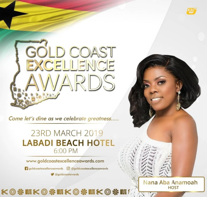 IMG 20190308 WA0000 - Nana Aba Anamoah to Host Gold Coast Excellence Awards — With A Prominent Male Celebrity to Be Announced Soon