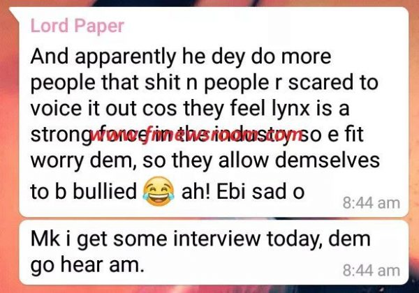 Lord Paper Kuami Eugene 1 e1551803266190 - Lord Paper Threatens To Beat The H*ll Out Of 'Greedy' Kuami Eugene — Read