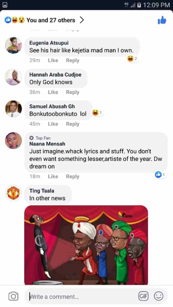 Tic jab2 - SCREENSHOTS: Tic Now A 'Chewing Stick' For Social Media Users — See How They Are Chewing Him On Facebook
