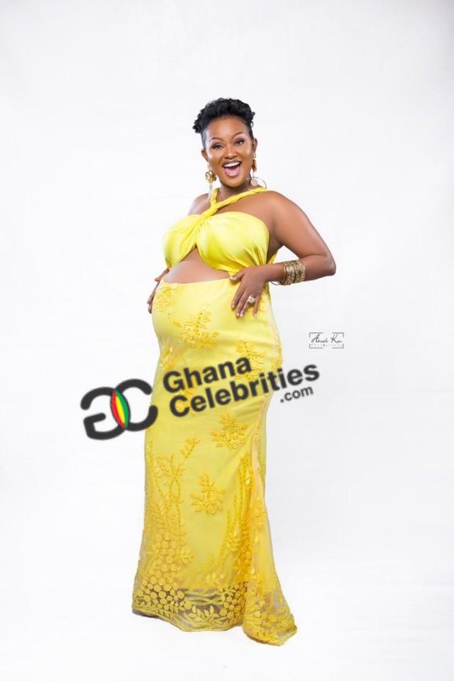 mcbrown2 2 - Check out Yet to Be Seen EXCLUSIVE PHOTOS of Nana Ama McBrown's Baby Bump — PHOTOS