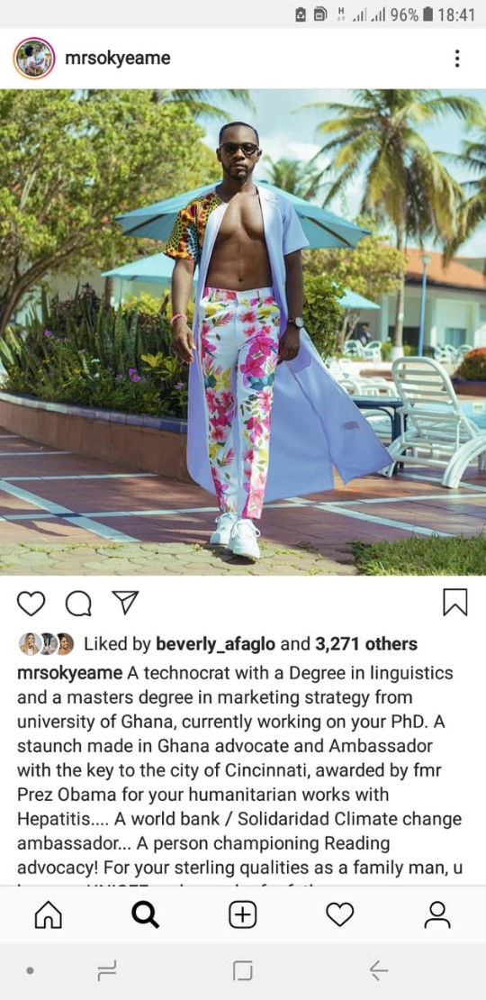 57113068 671500259945619 4794051824464166912 n - Okyeame Kwame's Wife Writes Beautiful Glowing Message to Him As he Celebrates his 43rd Birthday — READ