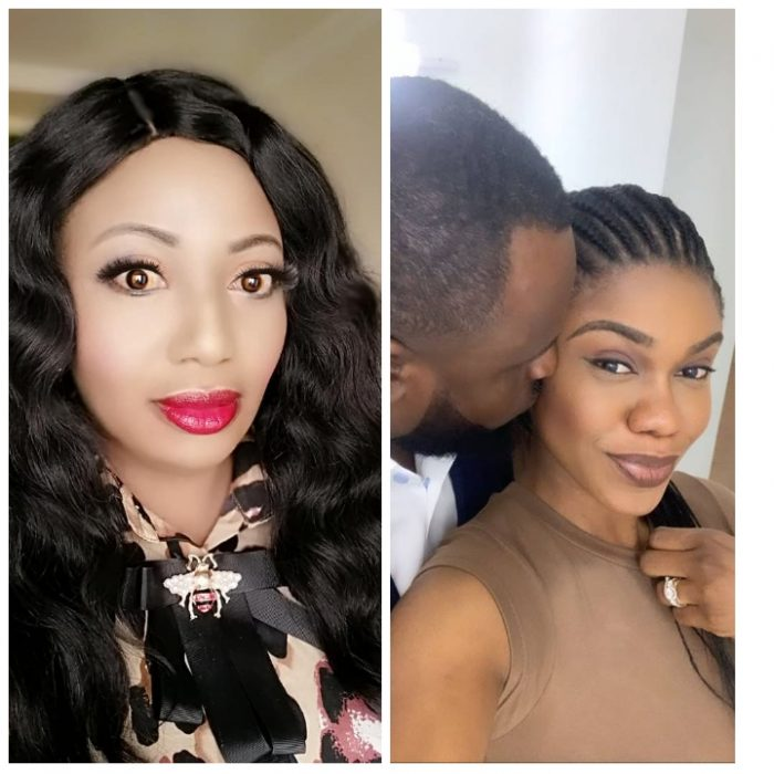 PhotoGrid 1555335588210 e1555335745997 - PHOTOS: Becca And Diamond Appiah In A Bleaching Competition?