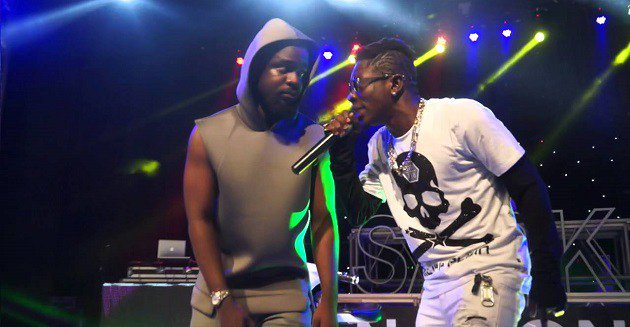 VIDEO: Enemies, What Happened To The Love? – Sarkodie Asks As He Jams To His Yet-to-be-released Song