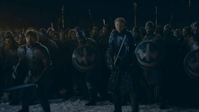 game of thrones season 8 episode 3 brienne jaime - Game of Thrones Season 8 Episode 3 Review — Saved by the Girl