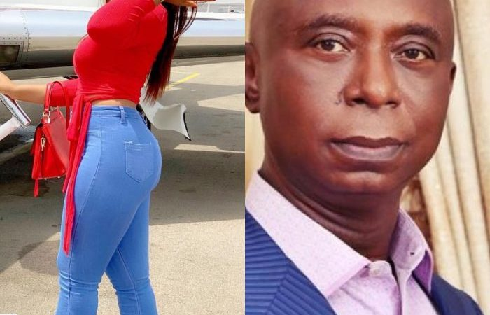 18-year-old Regina Daniels Is 4 Months Pregnant For 59-year-old Millionaire Husband, Prince Ned Nwoko