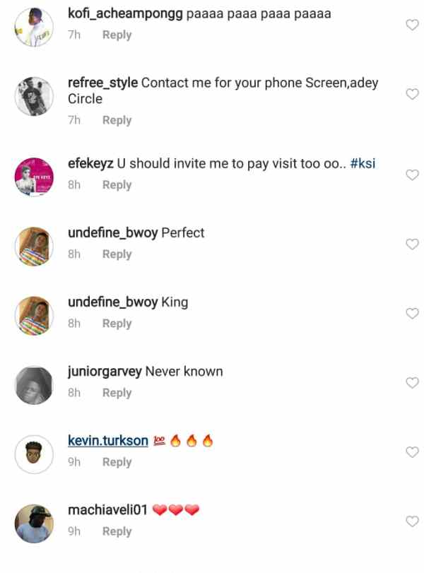 s... - PHOTO+SCREENSHOT: Social Media Users Teases Shatta Wale For Flaunting Cracked iPhone