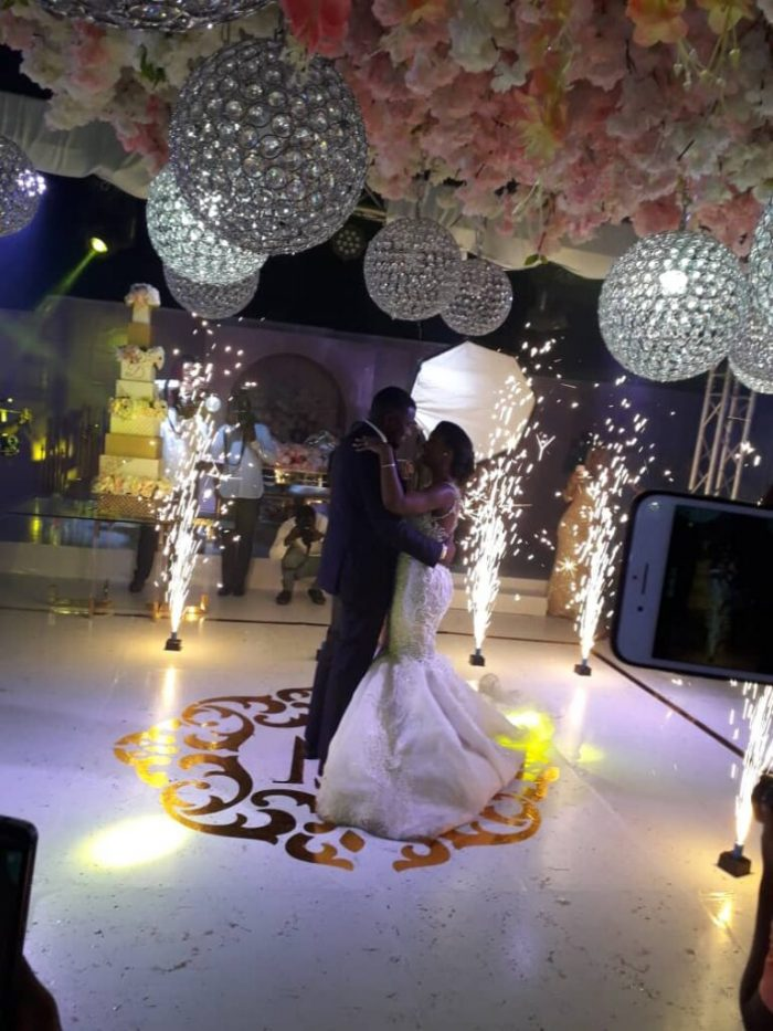D7 e1557652584110 - PHOTOS: Check Out First Photos From John Dumelo's White Wedding With Wife, Gifty Mawuenya