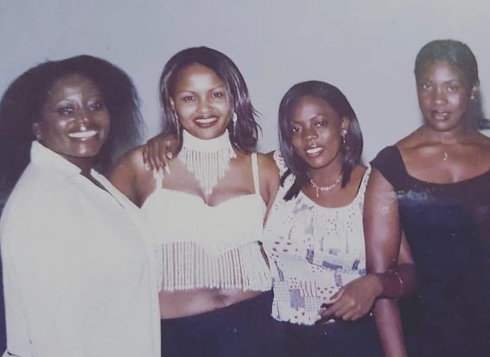 Mcbrown 700x - This 90s Photo Of Mcbrown, Nana Aba Anamoah, Akumaa And Emelia Brobey Is The Talk Of The Day