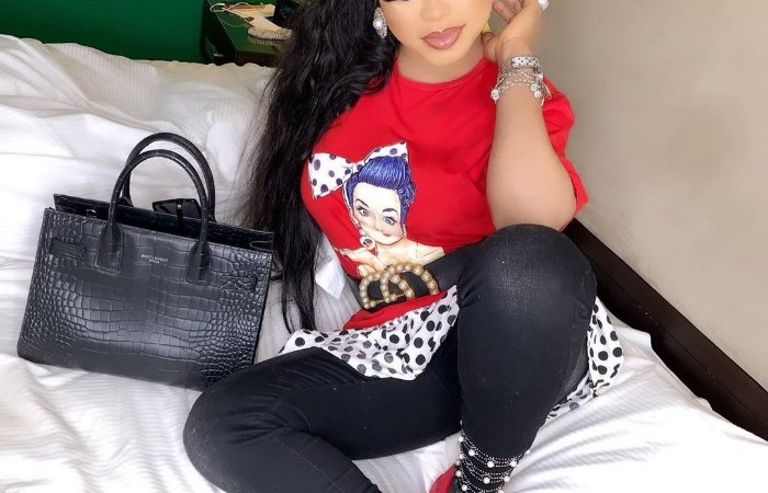 Real Video Of Bobrisky's Fallen Artificial Breast Hits The Web