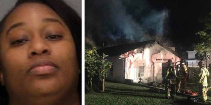 Pissed Off Lady Burns Down Her Lover's House After He Texted Her to Come for Dawn Lovemaking But Fell Asleep Before She Got There