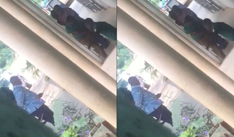 EXCLUSIVE SHOCKING VIDEO: Assistant Headteacher of Prempeh College Caught on Tape Abusing Students—As He Lashes Them Like Goats Despite GES Ban on Corporal Punishment