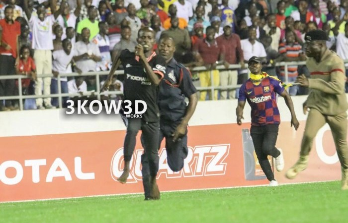 More Details Emerge of the Legendary Ghanaian Pitch Invader – He's A Tertiary Student, Would Be Arraigned Before Court Today Plus More Details