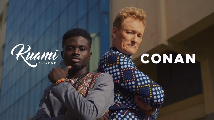 Kuame Eugene Lands Major Deal – Features U.S Comedian and Late Night Host Conan O'Brien In His Music Video 'For Love' – WATCH