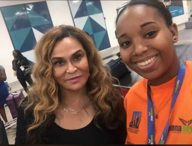 Image result for Tina Knowles in ghana