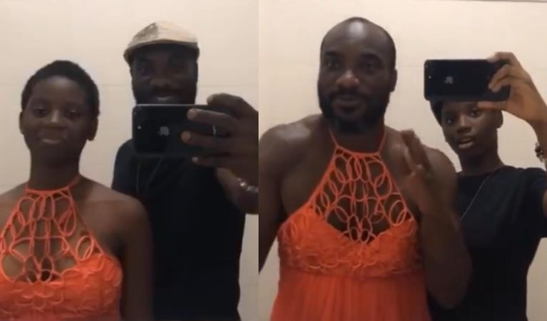 This Flip The Switch Challenge Of Kwabena Kwabena And Her Daughter Is The Cutest