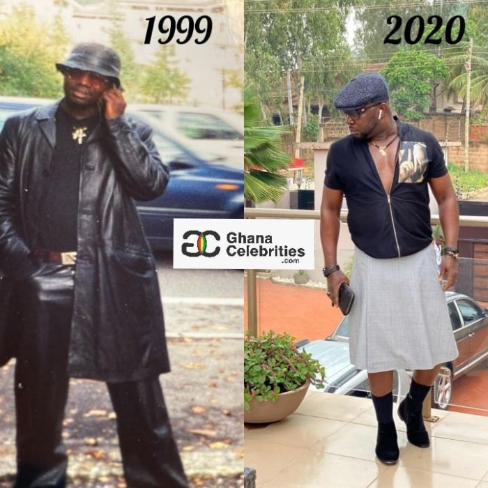 Throwback Photo Of Osebo Proves He Has Always Been the king of fashion 2