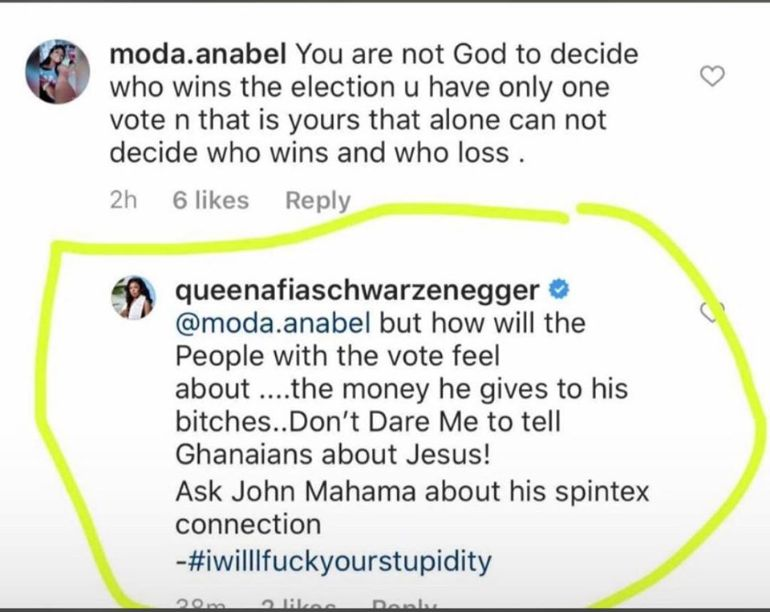 117313533 3164425696946617 3937810458057781400 o 1 - Afia Schwar Alleges Mahama Has A Sidechick Hiding In Spintex – Threatens to Drop More Secrets
