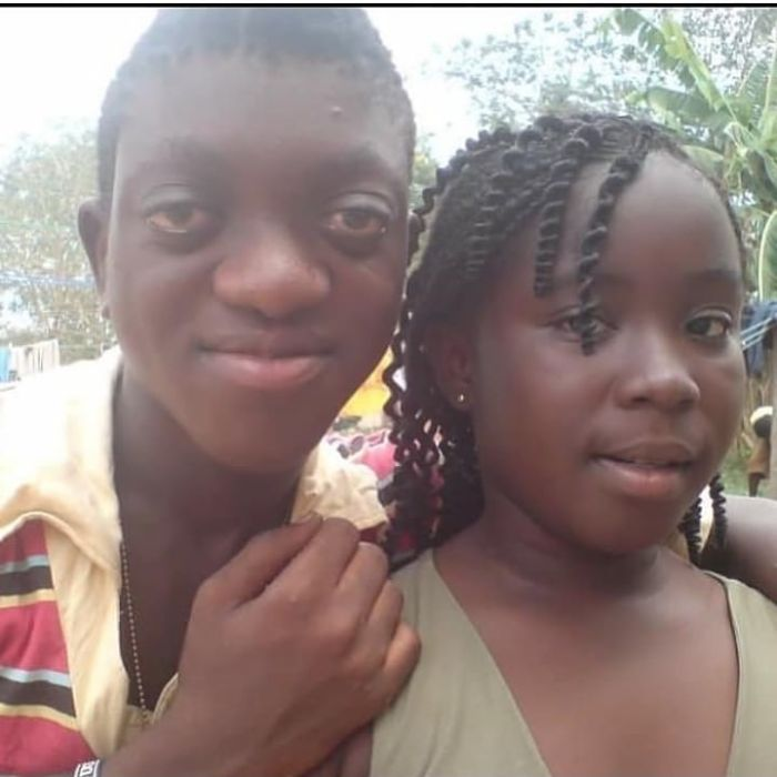 From Grass To Grace - Check Out Childhood Photo Of Maame Serwaa And Sunsum Ahuofe - GhanaCelebrities.Com