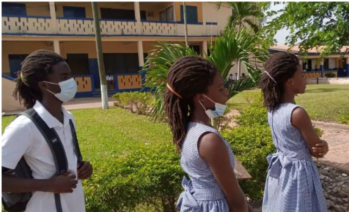 Twin sisters of the Rasta Boy to be sacked from St. Johns Grammar school for their hair as well. 2
