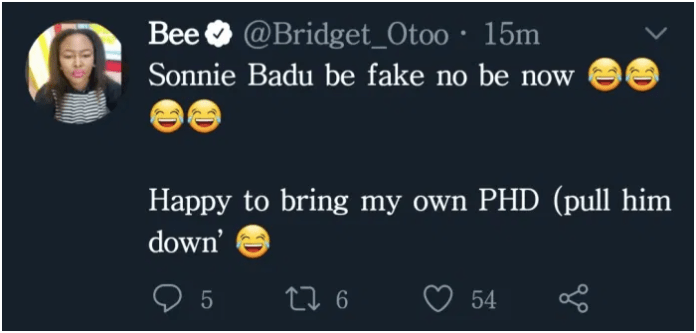 Pull Him Down, He Be Fake Long Time – Bridget Otoo Fires Sonnie Badu. 4