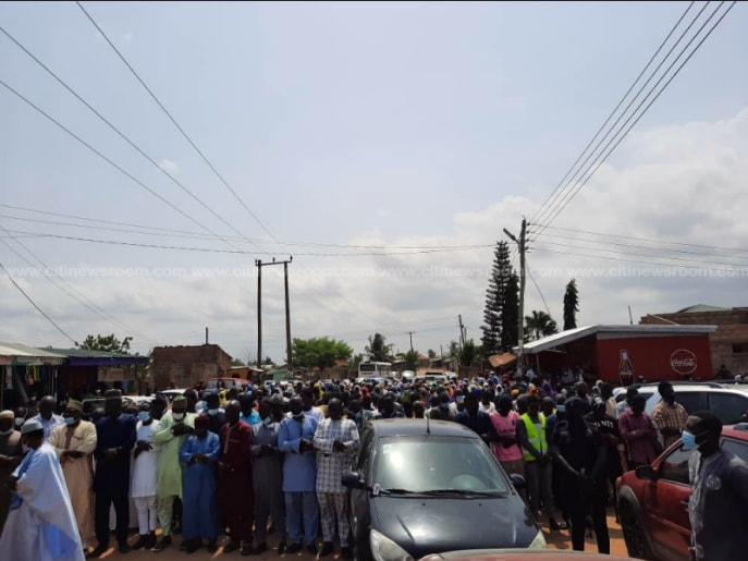 Sad Scenes From The Final Burial Rites Of 10-Year-Old Ishmael Mensah Hits Online – SEE. 56