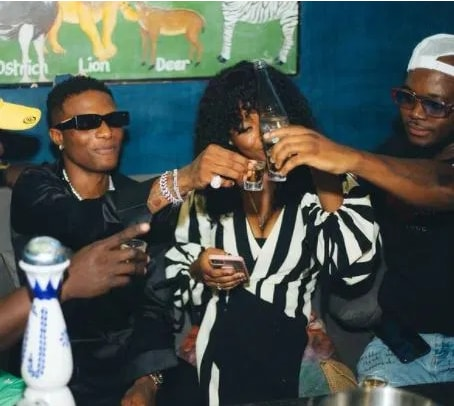 Photos Of Gyakie Getting Comfortable In The Arms Of Wizkid Causes Stir Online. 55