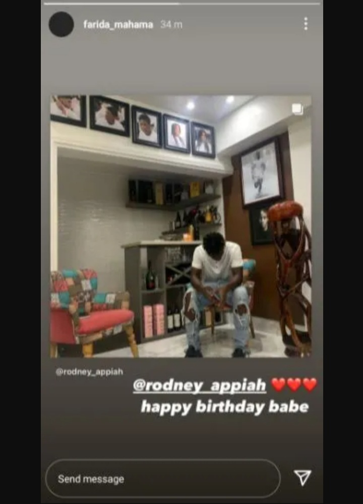 John Mahama's Daughter Farida Shows Off Her Boyfriend On Social Media For The First Time – Photos go viral