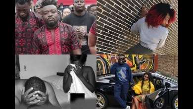 Photo of Bullet Caught In Bed Naked With Wendy Shay By His Girlfriend – Watch or Listen Here