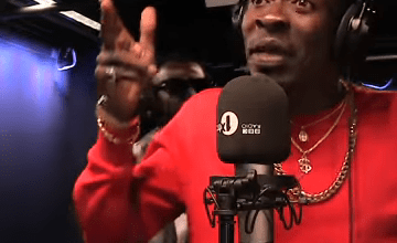 Photo of Shatta Wale Performs Gringo At BBC Radio 1Xtra – Watch Performance Here