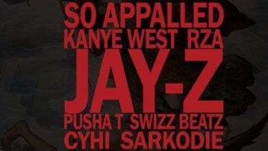 Photo of Download New : Sarkodie x Kanye West – So Appalled (New Version) Ft. Jay Z x Pusha T x RZA x Cyhi x Swizz Beat