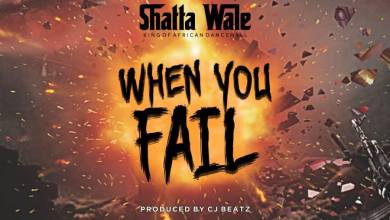 Photo of Download : Shatta Wale – When You Fail (Prod By CJ Beatz)