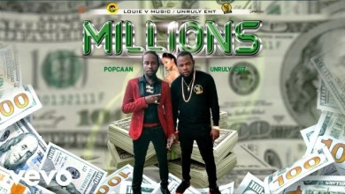 Photo of Download : Popcaan x Unruly Cuz – Millions (Prod. By Louie V Music)