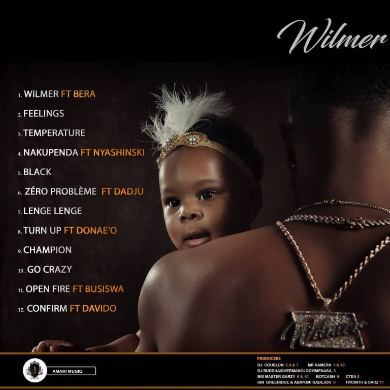 Download : Patoranking – Wilmer (Full Album)