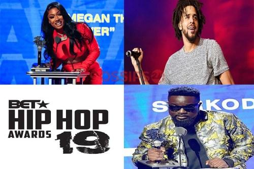 2019 BET Hip Hop Awards - Full List Of Winners