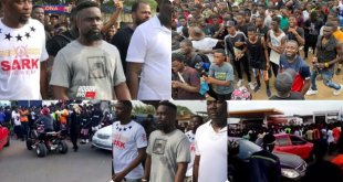 Sarkodie's Tema concert - Fans course major traffic in every community ahead of the show